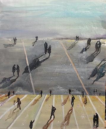 Isabelle Hervé-Ouverture - 61 x 50 cm -Acrylique sur toile-180dpi