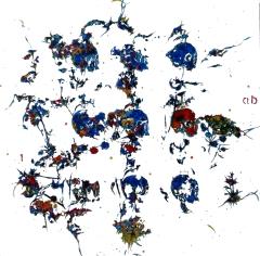 vanité- fleurs ab 80x80