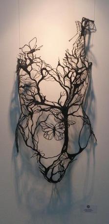 Violaine Sausset - Bijou de la nature - Acide Polylactique PLA - 65 x 34 cm